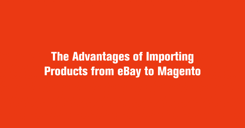Importing Products from eBay